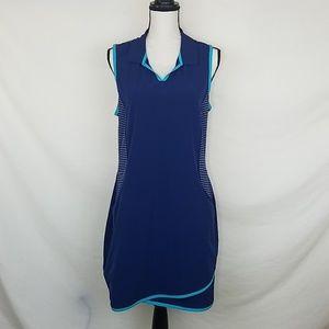 ADIDAS Navy Blue Active Dress, Size L